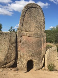 Coddu Ecchju stele